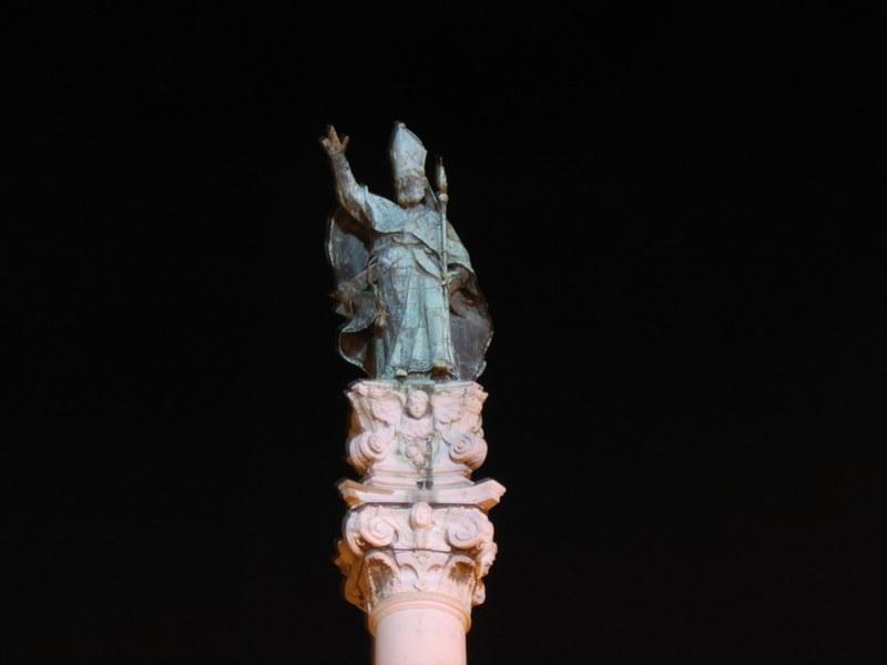 Statua di Sant'Oronzo protettore di Lecce