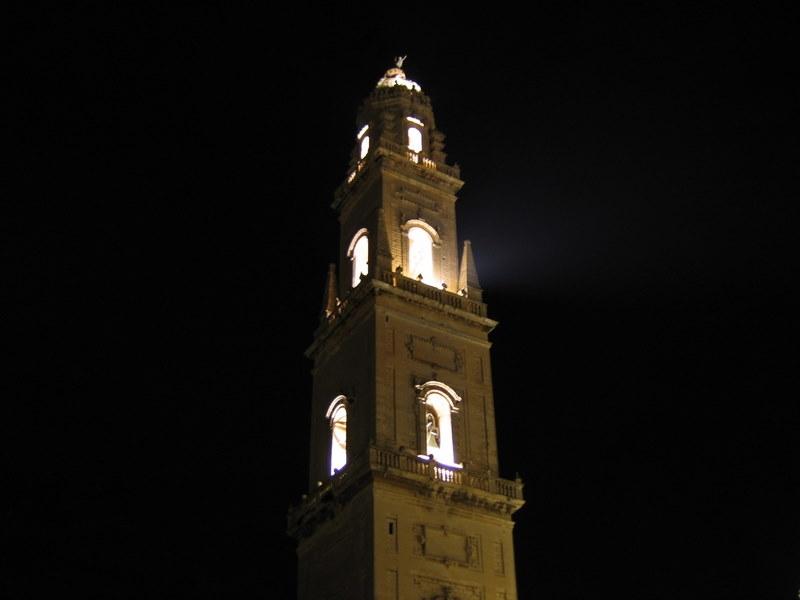 Lecce il campanile della cattedrale