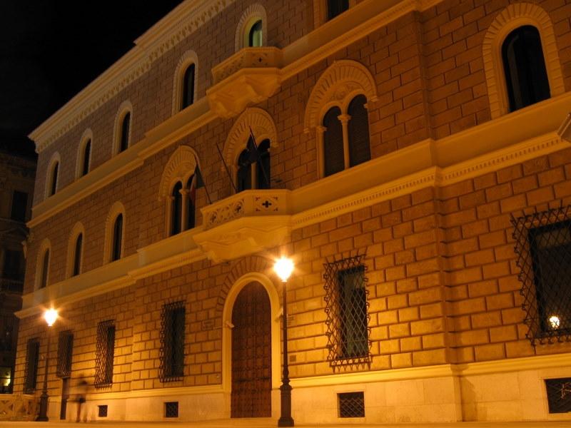 Lecce Palazzo sede della banca d'Italia