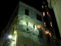 Lecce suggestiva visuale del campanile