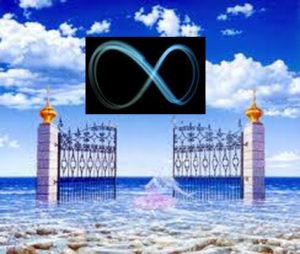 Un cancello aperto sul mare infinito