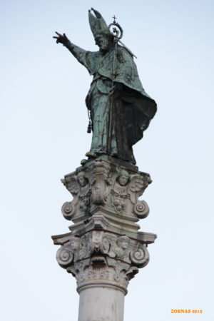 Storia della Colonna di Sant'Oronzo di Lecce di Pompeo Maritati