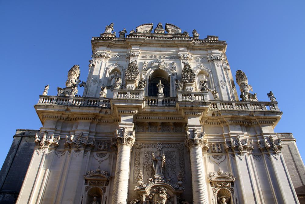 Facciata della Basilica del Rosario - Lecce