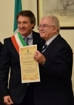 Cittadinanza Onoraria di Poggiardo e Vaste conferita al mio caro amico Ing. Gianni Carluccio