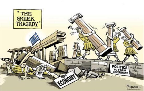 Riaffiora lo spettro della Grexit: quando la Germania perde il pelo ma non il vizio