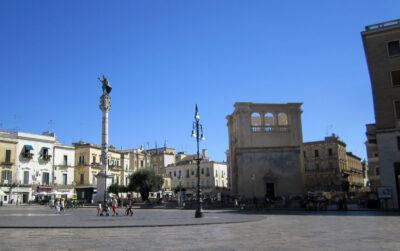 Storia della Colonna di Sant'Oronzo di Lecce (Prima Parte)