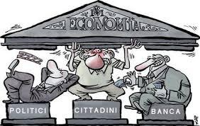 Un sistema di giro tra debiti e crediti tra Banche e governi che favorisce solo il sistema bancario