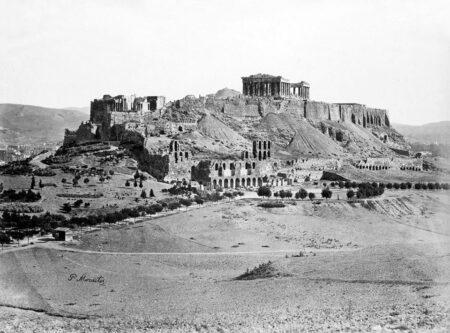 Dedicato ad Atene. Una carrellata di vecchie foto dal 1850