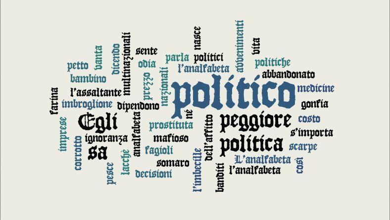 L'analfabetismo politico