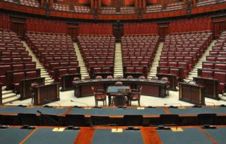 Veduta della camera dei Deputati