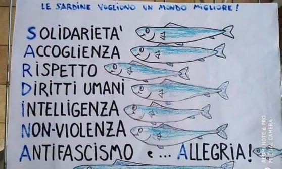 Le sardine nuovo movimento