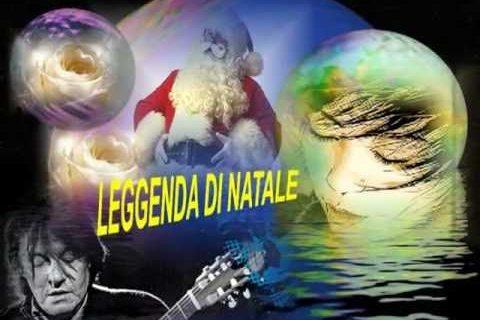 Copertina del disco di De André La leggenda di natale