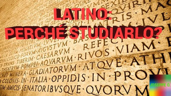 Lo studio del latino e la sua utilità: opinioni a confronto