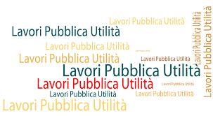Lavori di Pubblica utilità