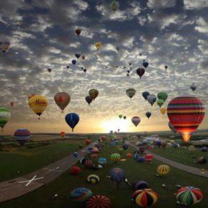 Palloni Aerostati di Felicità