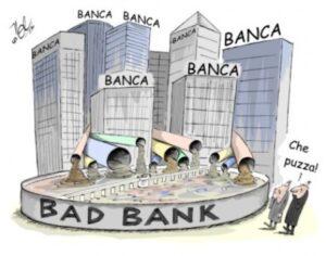 Una bad bank europea per ripulire le sofferenze dai bilanci delle banche